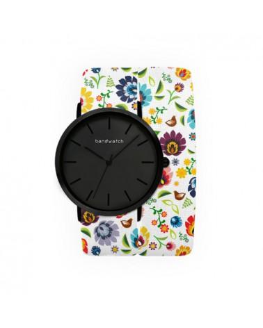 Women's watch - White meadow