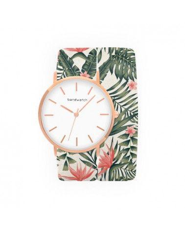 Women's watch - Exotic blooms