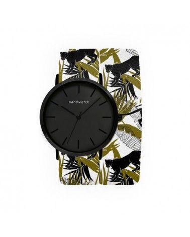 Women's watch - Black panther