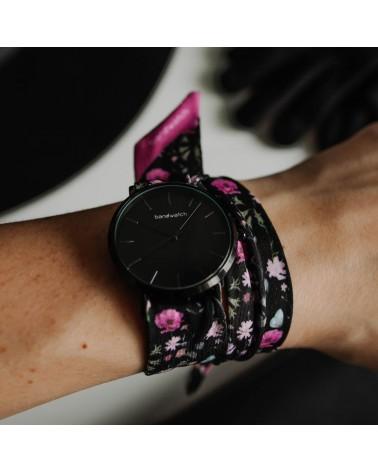 Women's watch - Navy stripes