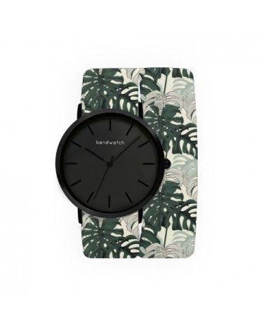 Women's watch - Monstera leaves